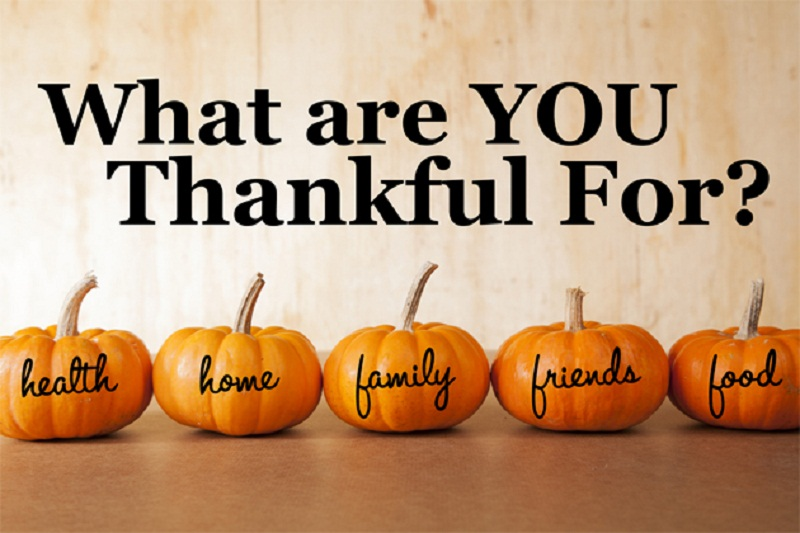 Happy Thanksgiving! - Cornerstone Academy